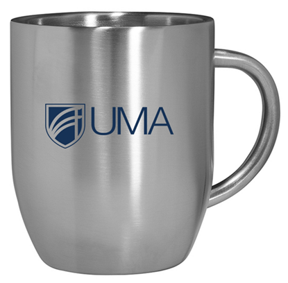 12 oz Coffee Mug - Stainless Steel